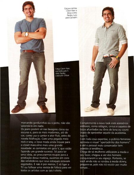 Camarim Moda na Revista ÓTIMA - abril 2010